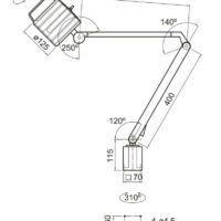 MWG 6-720 Maszynowa lampa LED OPTIMUM