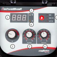 CRAFT-STICK 403 CEL Spawarka elektrodowa i do elektrod celulozowych