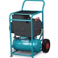 ACS SPECIAL COMPACT AIR 2,7-10-24 Mobilna sprężarka śrubowa z napędem bezpośrednim i zbiornikiem malowanym proszkowo 230V AICRAFT