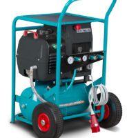 ACS Special Compact Air 3,0-10-24 Mobilna sprężarka śrubowa z napędem bezpośrednim i zbiornikiem malowanym proszkowo 400 V AICRAFT