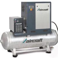 A-PLUS 11-10-500 K Sprężarka śrubowa z napędem pasowym oraz osuszaczem chłodniczym AIRCRAFT