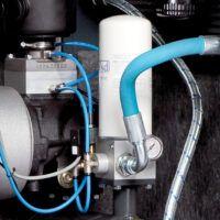 A-K-MAX 1110-500 K VS Sprężarka śrubowa z napędem bezpośrednim, zmiennoobrotowa i osuszaczem chłodniczym na zbiorniku sprężonego powietrza AICRAFT