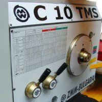C10TMS Tokarka konwencjonalna z płynną regulacją obrotów ZMM BULGARIA